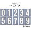 フロアサイン ナンバー大 (0〜9) (アトムハウスペイント/路面標示材/数字)