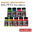 ルミノサイン 30g×9色セット (シンロイヒ/油性蛍光塗料)