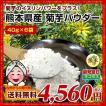 菊芋パウダー 糖尿予防 熊本県産菊芋使用 ふるさと菊芋パウダー40gX6袋 いまテレビで話題 イヌリンパワー お取り寄せ 送料無料