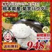 菊芋 パウダー 熊本県産菊芋使用 ふるさと 菊芋 きくいも パウダー 40g 送料無料 イヌリンパワー キクイモ ぱうだー 得トクセール