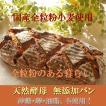 国産小麦 天然酵母 全粒粉 100% パン レーズンクルミ 特大