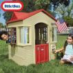 Online ONLY(海外取寄)/ リトルタイクス ケープコテージ プレイハウス タン 据置型 室内 屋外兼用 大型遊具 Littletikes 637902