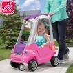 8月3日入荷予約販売/ 乗物玩具 車 STEP2 イージー ターン クーペ ピンク