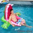 浮き輪 大人 フロート ワニ 5歳から 子供 大きい浮き輪  背もたれ付き 座れる浮き輪 SwimWays