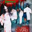 SALE  ZOMBIE COLLECTION Zombie YUREI(ゾンビ幽霊) 仮装 グッズ コスプレ 衣装 ハロウィン 大人 女性 ホラー