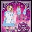 あすつく DEath of Doll Crazy Alice(クレイジーアリス) ハロウィン 仮装 衣装 コスプレ コスチューム 大人用 レディース