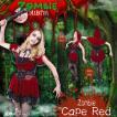 ZOMBIE COLLECTION Zombie Cape Red(ゾンビ赤ずきん) 衣装 コスプレ ハロウィン 仮装 大人 コスチューム
