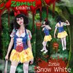 ZOMBIE COLLECTION Zombie Snow White (ゾンビ白雪姫) 仮装 グッズ コスプレ 衣装 ハロウィン 大人 女性