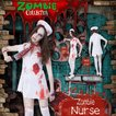 ZOMBIE COLLECTION Zombie Nurse(ゾンビナース) 衣装 コスプレ ハロウィン 仮装 大人 コスチューム ゾンビ