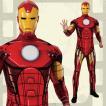 大人用アイアンマン XL ハロウィン 仮装 衣装 コスプレ コスチューム メンズ 男性用 Iron Man 大きいサイズ ビッグ アベンジャーズ マー
