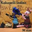 インディアンココペリ[Mサイズ] シリーズの中でも装飾が細かくハイグレードでオシャレなココペリです! ネイティブアメリカン