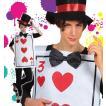 ハロウィン コスプレ 衣装 仮装 コスチューム 不思議の国のアリス トランプ 兵隊 男性用 女性用 男女共用 「Mr.トランプ UNISEX」
