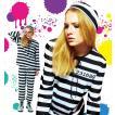 囚人 ハロウィン コスプレ 衣装 仮装 コスチューム 女性用 レディース 「フォンデットスーツ  Ladies」