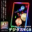 LEDパネル デジタルRGB A1 ポスターフレーム 送料無料