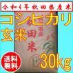 【28年産】秋田県産コシヒカリ 30kg 玄米(検査米一等...