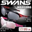 スワンズ (SWANS) スポーツサングラス WARRIOR-6 (ウォ−リアーシックス) WA6-0709 [W/PI] ミラーレンズ uvカット ケース付き