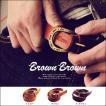 BrownBrown[ブラウンブラウン] カウレザー ナロー ウォッシュ ベルト(3色) 40代 50代