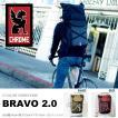 バックパック クローム CHROME ブラボ Bravo 25L ロールトップ リュックサック ピスト シングルギア 送料無料 約21L