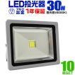 LED投光器 30W 300W相当 防水 LEDライト 作業灯 防犯 ...