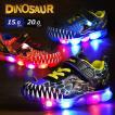 光る靴 恐竜 キッズ スニーカー 恐竜柄  男の子  子供靴 シューズ フラッシュスニーカー ジュラシックワールド  恐竜 靴 ダイナソー