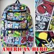 リュック アメコミ Americanhero ハルク スパイダーマン シルバーサーファー スーパーマン キャプテンアメリカ 個性派 ディパック アベンジャーズ マーベル