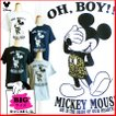 送料無料 激安 ミッキーマウス Tシャツ ディズニー 半袖 レディース メンズ ペアルック ビッグサイズ TDL めかくし ヒョウ柄