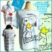 送料無料 激安 スヌーピー Tシャツ snoopy PEANUTS レディース メンズ ペア かわいい ビッグサイズ USL ボーダー マリン アメリカン コミック