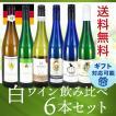 ワインセット 白ワイン 送料無料  冷やしてすっきりと飲みたい   ドイツ 甘口白ワイン  6本セット