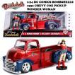 BOMBSHELLS 1:24 DC COMICS 1952 CHEVY COE PICKUP & WONDERWOMAN ミニカー