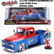 BOMBSHELLS 1:24 DC COMICS 1956 FORD F100 & SUPER GIRL ミニカー
