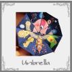 2017新作晴雨兼用大人可愛い折りたたみ傘 裏柄2色