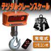はかり クレーンスケール 3トン 充電式 デジタル 吊り秤 リモコン付 A44B