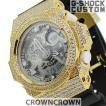 G-SHOCK ジーショック カスタム メンズ 腕時計 GA-300 GA300-7A カスタムベゼル おしゃれ 芸能人 ブランド 人気 メンズ ファッション CROWNCROWN GA300-007