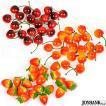 イチゴとチェリーのフェイクフルーツ 飾り インテリア ハンドメイド 雑貨 撮影小物 3type