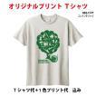 オリジナルプリントTシャツ作成/1色プリント代込/体育祭 学園祭 に!/10枚〜19枚