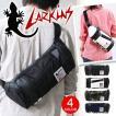 LARKINS ラーキンス ボディバッグ メッセンジャーバッグ ショルダーバッグ ターポリン×異素材MIX 通学 旅行 メンズ LKPM-02