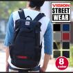 VISION ビジョン リュックサック リュック かぶせ STREET WEAR ストリートウエア デイパック タブレット PC収納可能! メンズ レディース vision-005