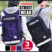 VISION STREET WEAR フラップリュック ビジョン ストリートウエア