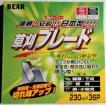 草刈ブレード 230mm軽量タイプ 刈払刃チップソー バクマ 日本製