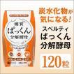 ダイエットサプリメント 炭水化物 糖質 ぱっくん分解酵母 30回分(120粒)