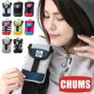 チャムス スマホケース iphone6 CHUMS Mobile Patched Case Sweat Nylon CH60-2364