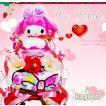 [6/26(土)到着可] おむつケーキ 出産祝い マイメロ マイメロディ My Melody サンリオ 名入れ 女の子 キャラクター