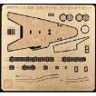 ジョーワールド JPE730 1/700 IJN 扶桑リテイク版 飛行機作業甲板セット(エッチング)