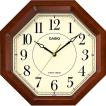 CASIO カシオ インテリアクロック 室内装飾品 掛け時計 振り子無し丸型時計 IQ-1106J-5JF 代引不可