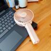 ハンディファン 充電式 卓上扇風機 USB STUNNER 2way handy fan