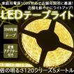 イルミネーション LED テープライト チューブ 店舗用 5m 60シリーズ 電球色 テープライト  100V対応アダプター付き
