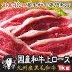 肉 2021 ギフト 九州産 黒毛和牛上ロース 500g×2パック 計1キロ ギフト 送料無料