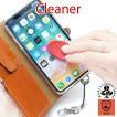 クリーナー ストラップ キーホルダー 携帯 スマホ 画面 指紋 汚れ 拭き cleaner s211