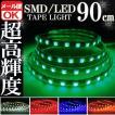 SMD LEDテープ 90cm 防水 グリーン 発光