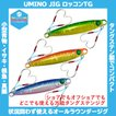 /メール便可/ UMINO JIG (ウミノジグ) ロッコンTG 60g タングステン メタルジグ スーパーライトジギング